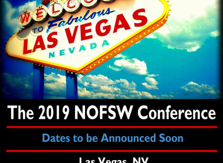 Over 300 participants attended the 2019 NOFSW Conference in Las Vegas last week!
