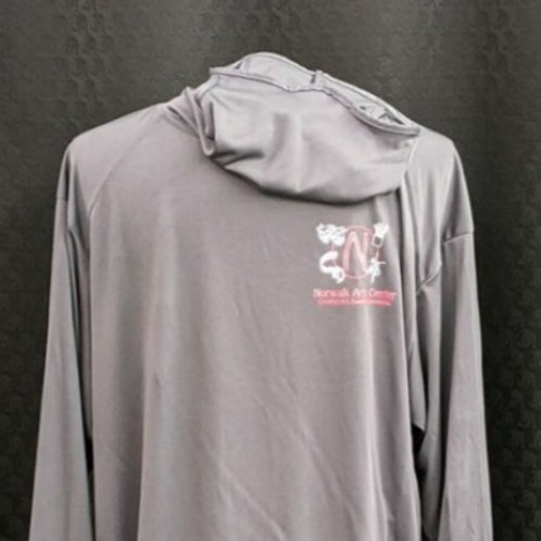 Long Sleeve Performance Shirt with Intergrated Face Mask