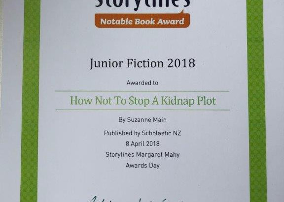 How Not to Stop a Kidnap Plot is a Storylines Notable Book