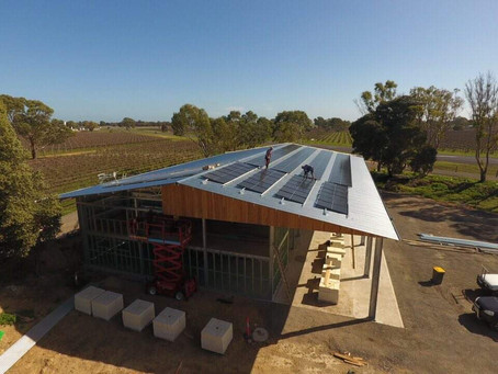 The New Whistle Post Winery - Building a Sustainable Winery for the Future
