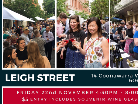 Coonawarra on Leigh Street Event