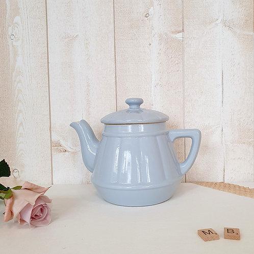 Cafetière   Théière bleue