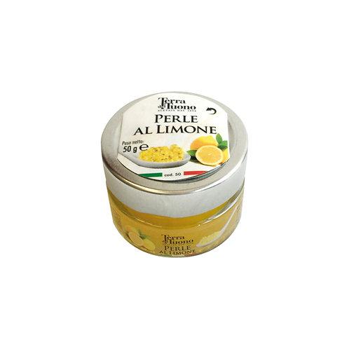 Acetaia Terra del Tuono - Perle di Aceto Balsamico al Limone 50gr.