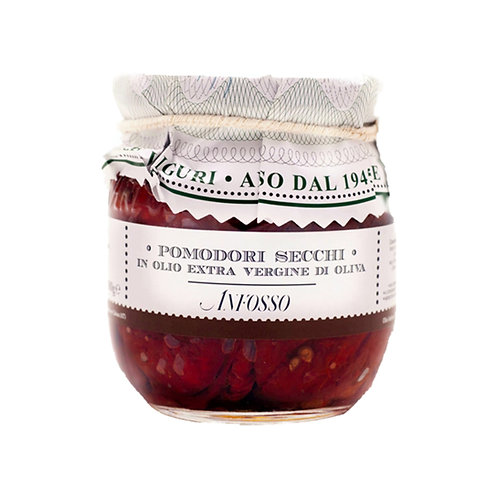 Pomodori secchi in olio extravergine di oliva 180gr. Anfosso