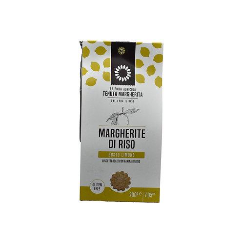 """Biscotti di riso al """"Limone"""" 200gr. - Tenuta Margherita"""