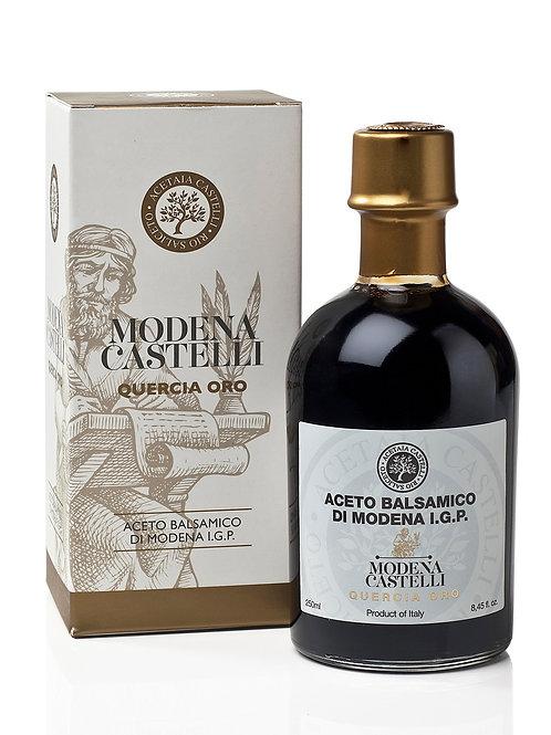 Aceto Balsamico di Modena I.G.P. Quercia Oro 250ml. Acetaia Castelli