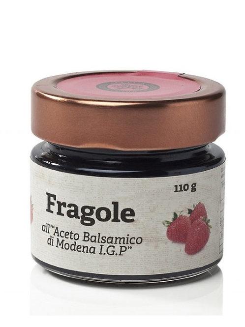 Acetaia Castelli - Composta di Fragole al Balsamico di Modena I.G.P. 110gr.