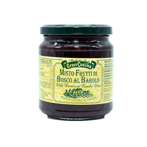 Misto frutti di bosco al Barolo 310gr. - Gran Cucina