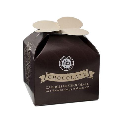 Cioccolatino fondente con crema all'aceto balsamico Acetaia Castelli