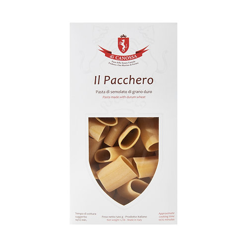 Paccheri 500gr. Pasta di Canossa