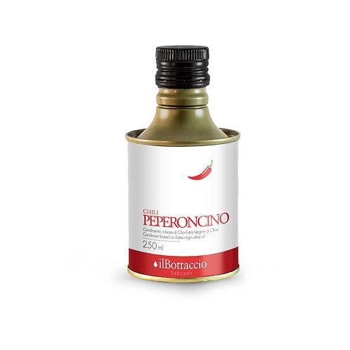 Olio Extravergine di oliva infuso con peperoncino 250ml Il Bottaccio