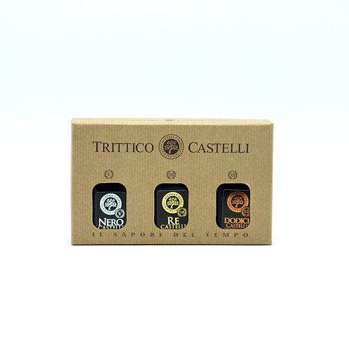 Acetai Castelli - Trittico Castelli  di condimenti balsamici invecchiati