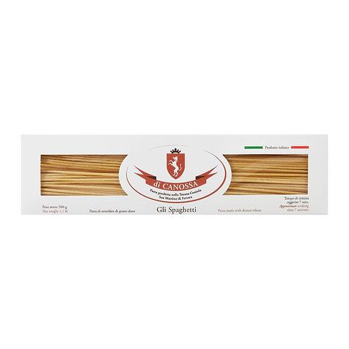 Spaghetti 500gr. Pasta di Canossa