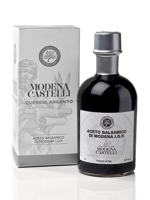 Aceto Balsamico di Modena I.G.P. Quercia Argento Acetaia Castelli-Nostrale