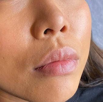 PMU Lip Blush Before Photo Beauty Gate Laval & Ottawa