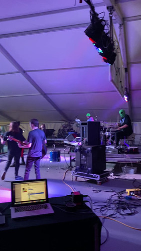 NEONBLACK performing at the Strawberry Festival
