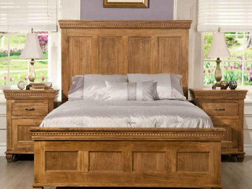 Provence Solid Wood Bed