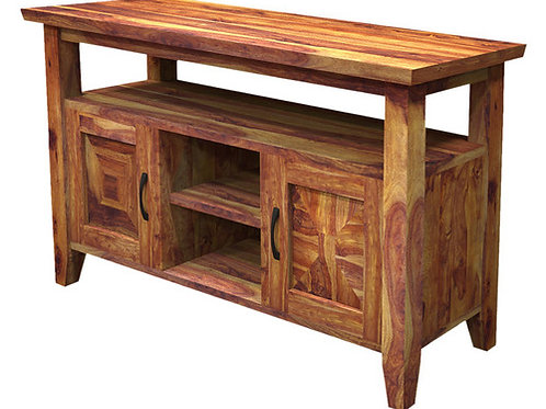 Traditional Solid Wood Buffet Rustic Sideboard