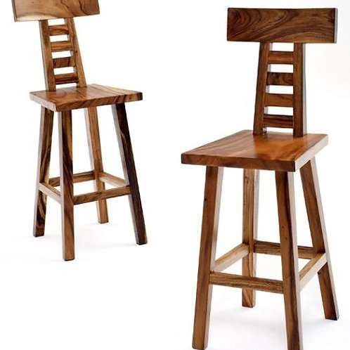 Contemporary Rustic Bar Stool