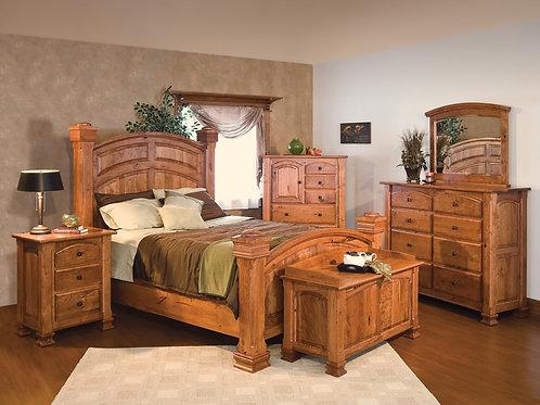Solid Rustic Bedroom Set