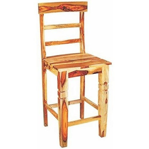 Solid Wood Ladder Back Counter Stool