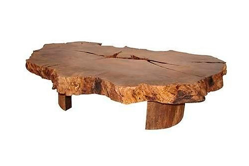 Wooden Contemporary Coffee Table