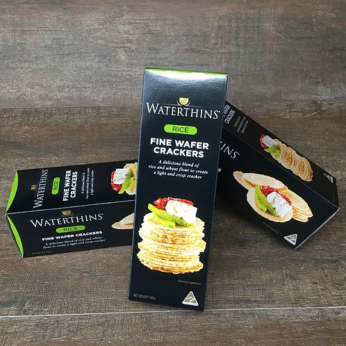 Waterthins Fine Rice Crackers