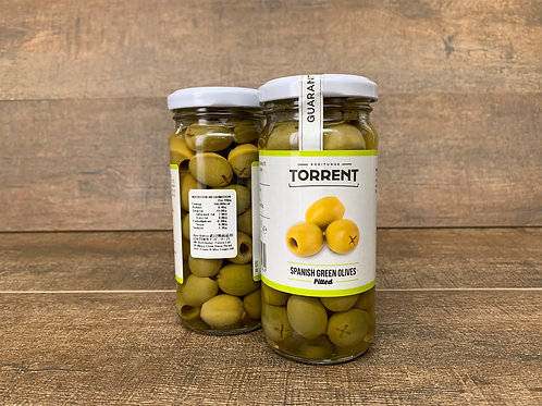 Spanish Pitted Green Oilves