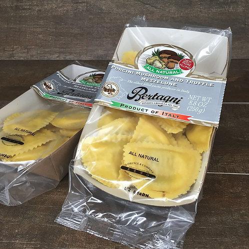 Italian Mushroom & Truffle Mezzelune