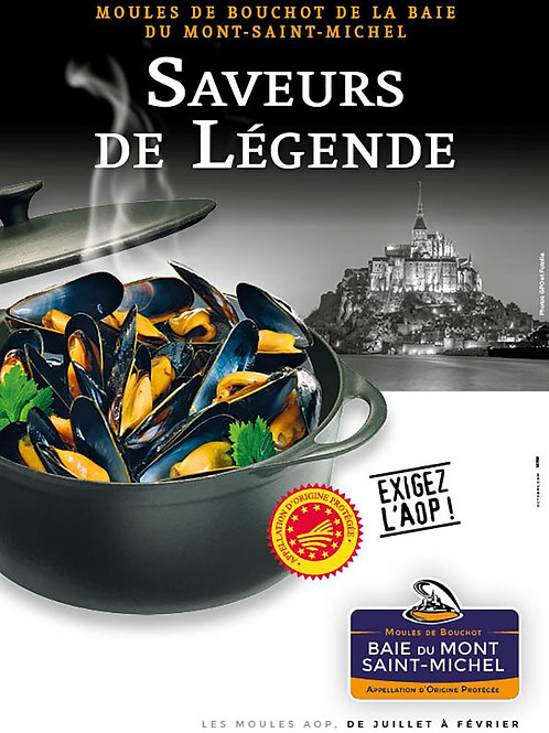 French Chilled Live Blue Mussel