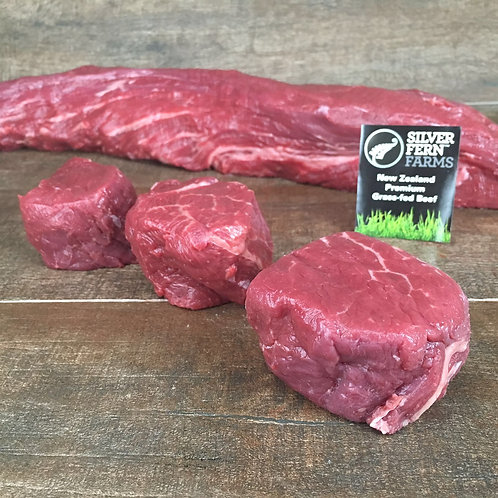 New Zealand Grass Fed Beef Tenderloin