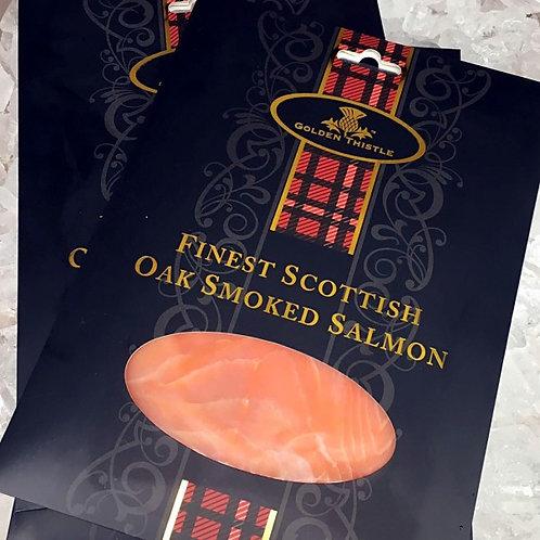 Chilled Scottish Oak Smoked Salmon