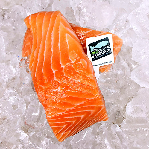 Chilled Irish Organic Salmon Fillet