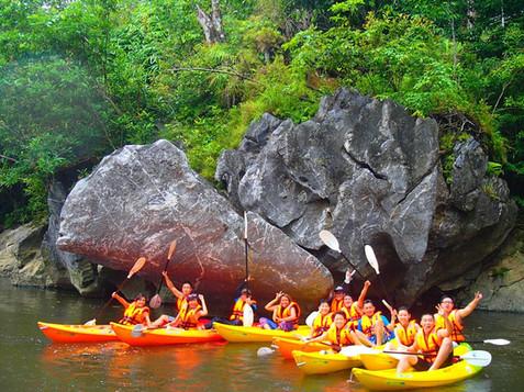 Kayaking Team