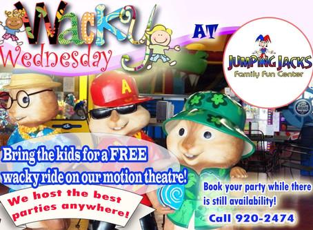 Wacky Wednesday at Jumping Jacks!