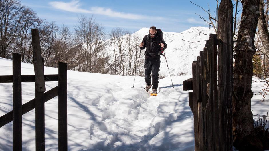 Historia de las raquetas de nieve.