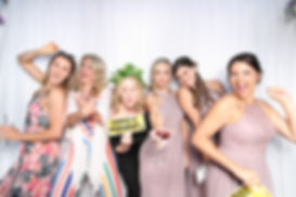 Bridesmaids in Fancy Pants Photo Booth