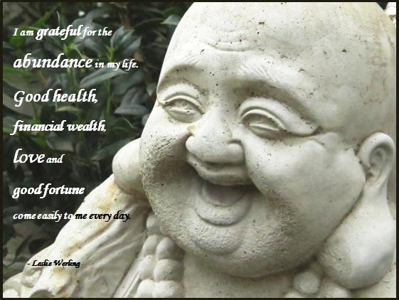 Buddha Meditation Affirmation Leslie Werling Psychic Medium