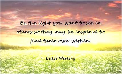 Inspiration Leslie Werling Psychic