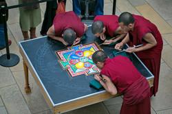 Mandala from top