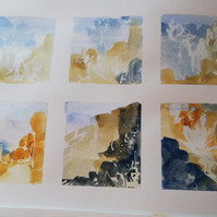 landscape and mark making