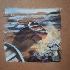 Tethered Boat (sold)