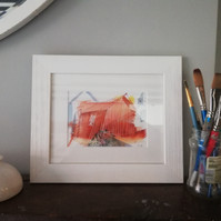 The Boat Shed, Framed Giclee Print