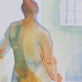 watercolour nude