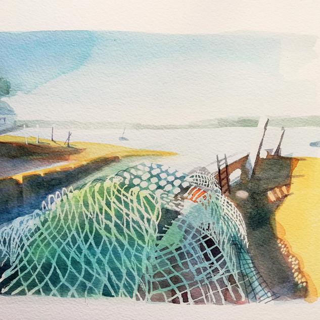 Nets on the Slipway
