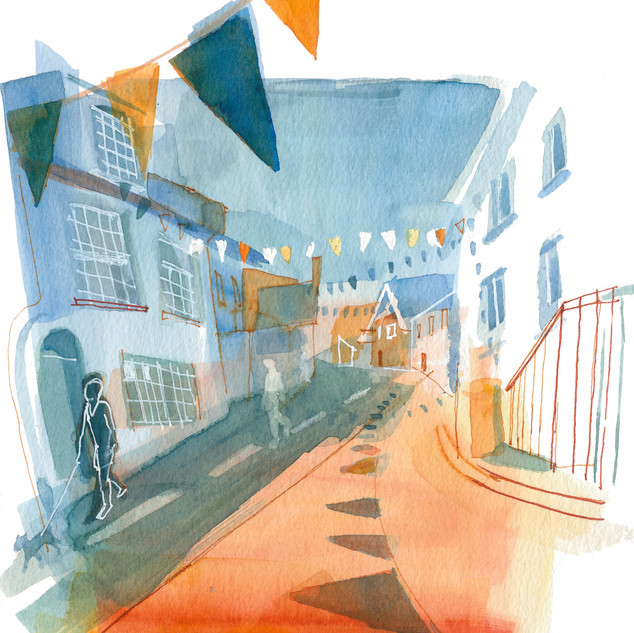 Summer Bunting (available as a print)