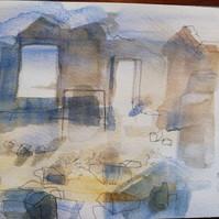 ruins on Lundy Island