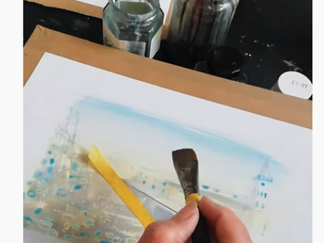 Harbour Watercolour demo: watch my painting come to life!