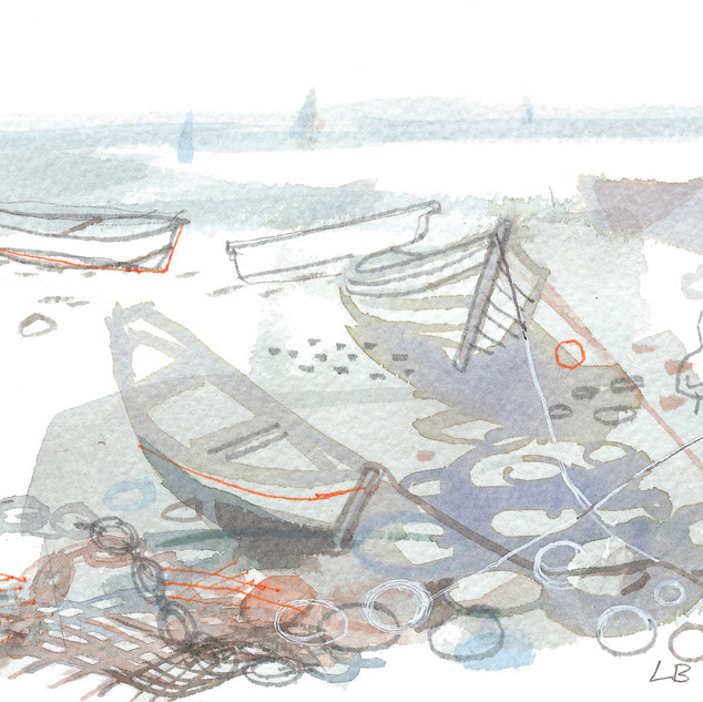 Boats on Pebbles