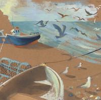 Gull Flight at Beer